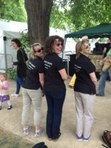 Bath Opticians at Bath Boules 2015-Three Cheeky Ladies